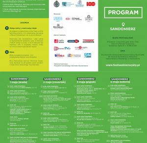XVI Festiwal Filmów - Spotkań Niezwykłych w Sandomierzu i Tarnobrzegu