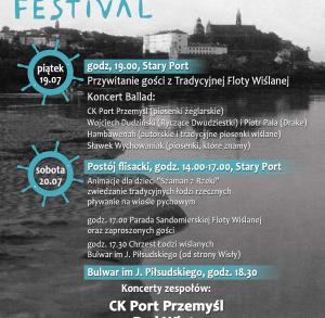 Dookoła Wody Festiwal 19-20 lipca br. w Sandomierzu.