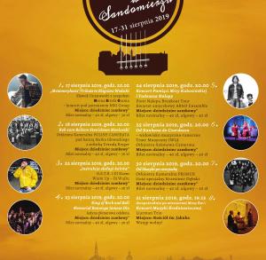 XXIX Festiwal Muzyka w Sandomierzu