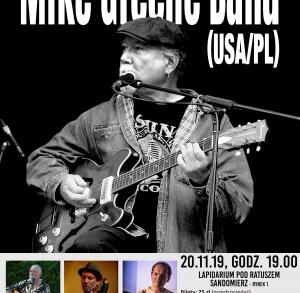 Koncert Mike Greene Band (USA/PL)