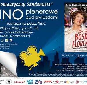 """""""Romantyczny Sandomierz"""" - Kino plenerowe pod gwiazdami: """"Boska Florence"""""""