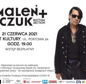 Koncert Macieja Maleńczuka + Rhythm Section / BRAK WEJŚCIÓWEK
