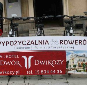 Wypożyczalnia rowerów w Centrum Informacji Turystycznej