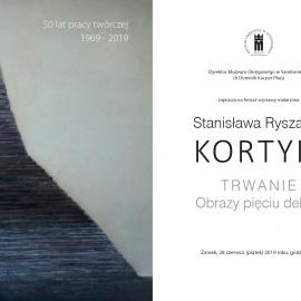 """Finisaż wystawy """"Trwanie. Obrazy pięciu dekad"""" w Muzeum Okręgowym w Sandomierzu"""