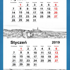 Kalendarze trójdzielne na 2020 r.
