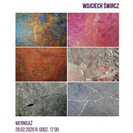 Wernisaż wystawy malarstwa Wojciecha Śwircza pt. ODWZOROWANIE KARTOGRAFICZNE