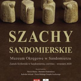 """Wystawa """"Szachy Sandomierskie"""" w Zamku Królewskim w Sandomierzu"""