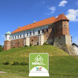 Zamek Królewski w Sandomierzu posiada rekomendację Miejsca Przyjaznego Rowerzystom na Wschodnim Szlaku Rowerowym Green Velo!