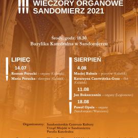 XXXI Sandomierskie Wieczory Organowe
