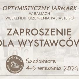 Optymistyczny Jarmark – zaproszenie dla wystawców